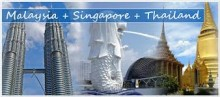 7D6N SINGAPORE – MALAYSIA – THAILAND Min 10 orang (Exclude tiket pesawat PP)